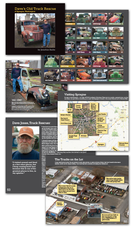 Sprague Truck Book Collage